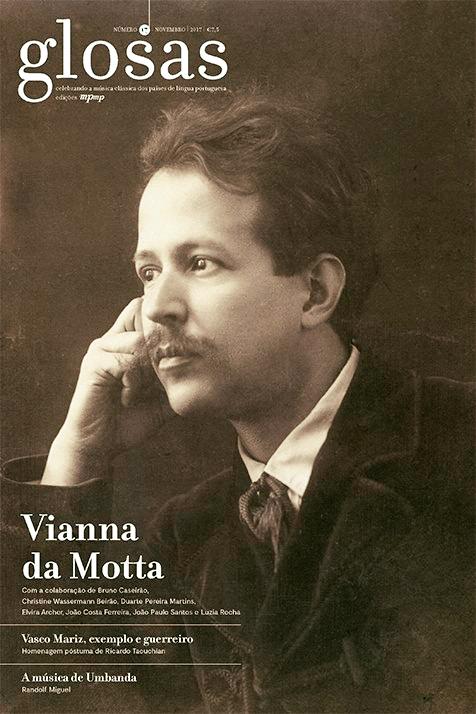 17 Da Revista Glosas Dedicado A Vianna Motta Colaborao Com Um Artigo Intitulado O Virtuosismo Segundo Jos Venda Aqui